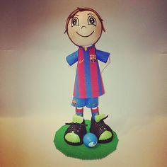 Fofucha jugador F.C.Barcelona