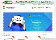 E-commerce realizzato con la piattaforma Prestashop, per Farmacia Giliberti Visita lo store ufficiale di Farmacia Giliberti