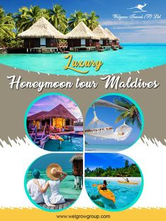 The Maldives could be your perfect honeymoon #destination; famous as it is for its #beautiful, secluded and of course intimate setting. In Maldives you will find endless ways to make your #honeymoon the most #dazzling event of your life.  Explore #Maldives with our Luxury #TourPackages at: www.welgrowgroup.com/honeymoon/maldives-honeymoon