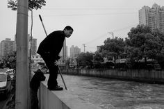 Photo: Urban Style Fishing, by Patrick Schoenmakers - China Digital Times (CDT)