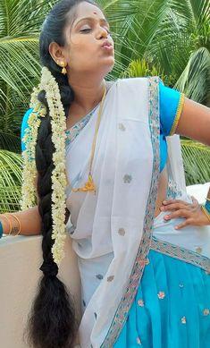 Long Hair Indian Girls, Indian Long Hair Braid, Indian Girl Bikini, Braids For Long Hair, Beautiful Braids, Beautiful Long Hair, Cut My Hair, Beautiful Girl Indian, India Beauty