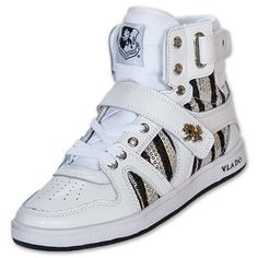 Womens Vlado Artisan Casual Shoes | FinishLine.com | White/Silver
