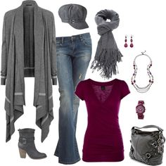 """Comfy Fall Outfit"" by masilly1 on Polyvore"