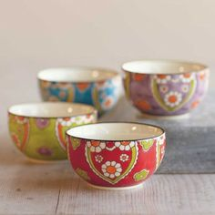 Winter garden plates and bowls