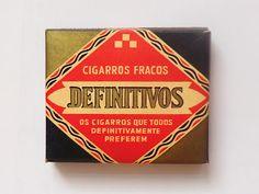 vintage Cigars package #Portuguese