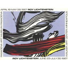 Free Shipping. Buy Roy Lichtenstein-Brushstrokes at Pasadena Art Museum-1967 Serigraph at Walmart.com