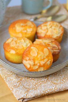 Soft almond and orange blossom Biscuit Cookies, Cake Cookies, Cupcake Cakes, Flan Dessert, Easy Desserts, Dessert Recipes, Cinnamon Muffins, Cake & Co, Cordon Bleu