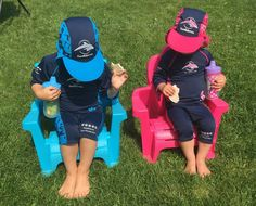 When you are spending your summers here, you definitely need to be sun conscience. We have been wearing our Konfidence UV protection to protect the kids. Swimming Gear, Kids Swimming, Golf Bags, Wetsuit, Sun, Let It Be, Babyshower, Sports, Swimwear