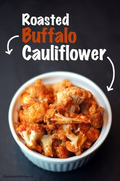 Roasted Buffalo Cauliflower - AVOCADO OIL #Recipe #BulkLiquids