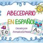 Un abecedario en español para cualquier tipo de uso, en carteles, en adorno.....