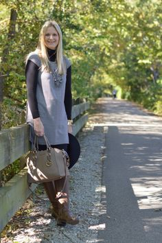 How to Wear Black and Brown Together | Style in a Small Town