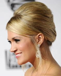 Carrie Underwood French Twist