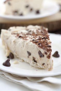 Chocolate Chip Peanut Butter Pie dessert-n-sweets.tumblr.com The Wishistry | Dream. Wish. Gift.