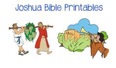 Joshua Bible Crafts: Minibook, Scripture Copywork more...