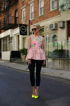 Peplum How adorable! This is so cute! Love this look :-)