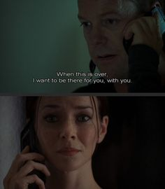 Jack Bauer and Renee Walker: 24, Season 8. I bawled when she died.