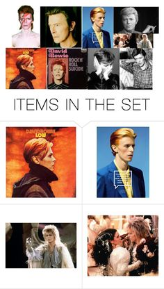 """""""R.I.P David Bowie"""" by dark-jewel ❤ liked on Polyvore featuring art"""