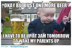 Hahaha not looking forward to that part of parenthood! Awesome memes -> shutupimtalking.com !