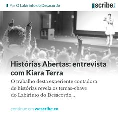 Histórias Abertas: entrevista com Kiara Terra - wescribe.co