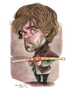 Tyrion- lápices polycrhomos #tyrion #tyrionlannister #peterdinklage #got #gameofthrones #caricatura #caricature #thewinteriscomming
