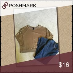🎉BOGO 🎉Lane Bryant Shimmery Top Size 18/20 NWOT NWOT, very versatile piece. Can be worn with jeans or dress pants. BOGO 50% off plus bundle discount. 💃💃💃 Lane Bryant Tops
