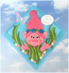 The Cake Store - Poppy Troll Cake, £129.00 (https://www.thecakestore.co.uk/poppy-troll-cake/)
