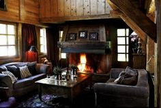 Luxury Hotel and Chalets in Megeve. Les Fermes de Marie is a luxury Hotel in Megeve, offering a Spa, pool, restaurants, bars. Room Wall Decor, Living Room Decor, Living Spaces, Living Area, Location Chalet, Interior Decorating, Interior Design, Decorating Ideas, Chalet Interior