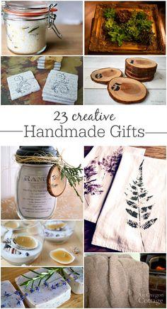 23 creativos hechos a mano regalos para todos los niveles de habilidades - Cualquier persona puede hacer regalos significativos!