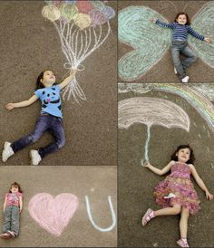What a beautiful idea for photos! Great for photo cards