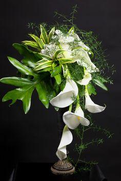 calla bouquet by Sakie