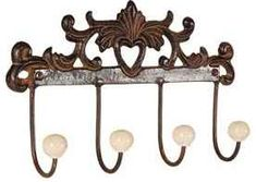 Lily Manor This wall mounted coat rack is a unique and beautiful decoration for any of your room at home. With this product, your entire space can feel fresh, on-trend and refined. Hat And Coat Stand, Coat Stands, Coat Hooks Wall Mounted, Standing Coat Rack, Wall Lights, Ceiling Lights, French Bistro, Wall Racks, Hazelwood Home