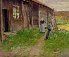 Lars Jorde (1865–1939): Conversation, 1892