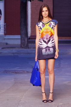 Fashion Agony: Look of the Day: Eye of the Tiger