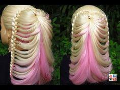 Trança Borboleta em Rabo de Cavalo, bín tóc bướm, ถักเปีย ถักผีเสื้อ - Telma tranças - YouTube
