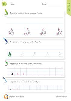 Les gestes pour écrire la lettre s minuscule en cursive Pour écrire de la lettre s minuscule en cursive, on part de la base avec un trait oblique (incliné vers la droite) puis au niveau du premier interligne, on change de direction pour redescendre en effectuant un pont incliné qui se referme sur le trait oblique qu'on vient de tracer. Les signes étudiés en Graphisme qui nous permettent d'écrire la lettre s sont la ligne oblique et le pont.