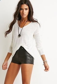Textured Slub Knit Sweater | Forever 21 | #thelatest