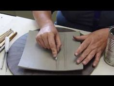 How to Make a Bisque Hump Mold with a Bucket | RADASCH - YouTube