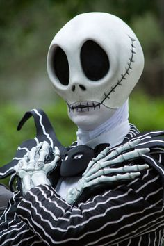 Realistic Jack Skellington Costume