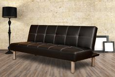 instead of (from Furniture Deals) for a black or brown Cancun faux leather sofa bed - save Sofa Furniture, Furniture Deals, Birmingham, Triple Sleeper Bunk Bed, Faux Leather Sofa, 3 Seater Sofa Bed, Comfy Sofa, Mattress Springs, Home Comforts