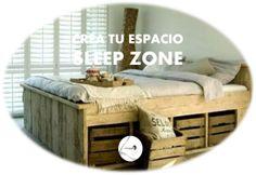 Aprovechar hasta el más mínimo espacio cada día es más una necesidad, te dejamos una demostración de que se puede hacer con buen gusto, ¿y tú, nos enseñas tu SLEEP ZONE?