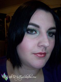 Makeup Monday - Smokey Green, Olive and Blue (Take 2) [Jul '10]