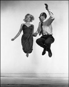 Monroe and Halsman