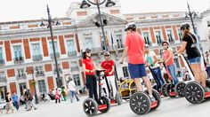 Die ultimative Segway-Tour durch Madrid
