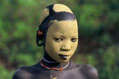 Etiópia(tribos Surma Mursi, Fotografia de Hans Silvester)