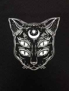 Parche de alma de gato | parches | parche de gato | punk