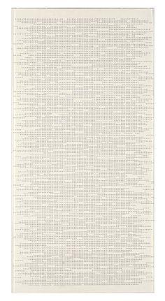 alfabeto della mente-lettera 13, 1980: dadamaino