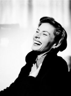 I have grown up alone. I've taken care of myself. I worked, earned money and was independent at 18--Ingrid Bergman, 1950