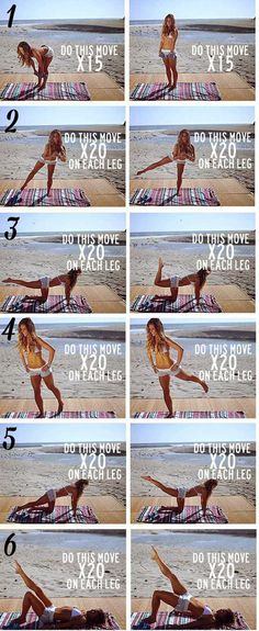 Workout | Super Fun FREE Things To Do At The Beach