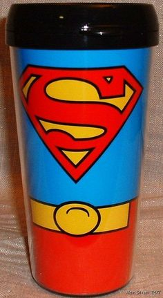 superhero coffee mug
