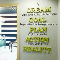 Search more. ,😍 his is so true. Even the bible says write the vision and make it plain. I have Goals that I will reach. Write The Vision, Quotes To Live By, Life Quotes, Quotes On Dreams, Decoration Evenementielle, Quote Decorations, Decor Ideas, Decorating Ideas, Hallway Decorating